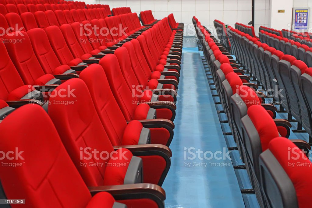 red chairs royalty-free stock vector art