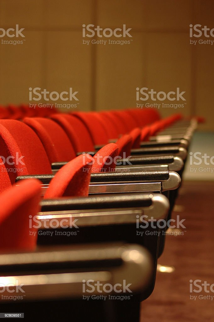 Red Chairs royalty-free stock photo