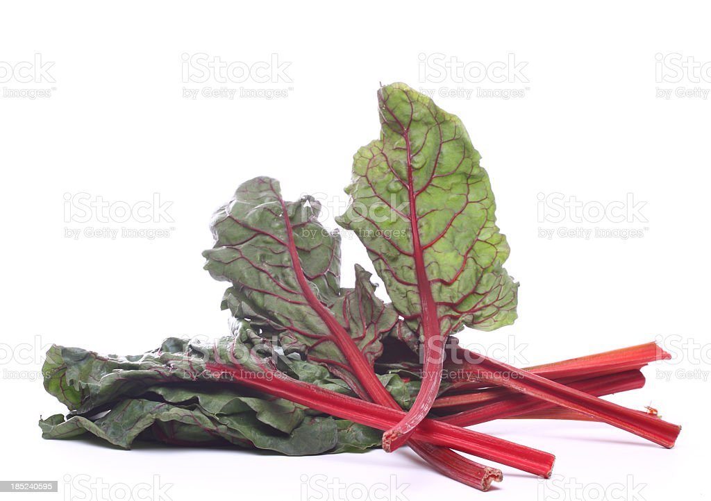 red chard stock photo