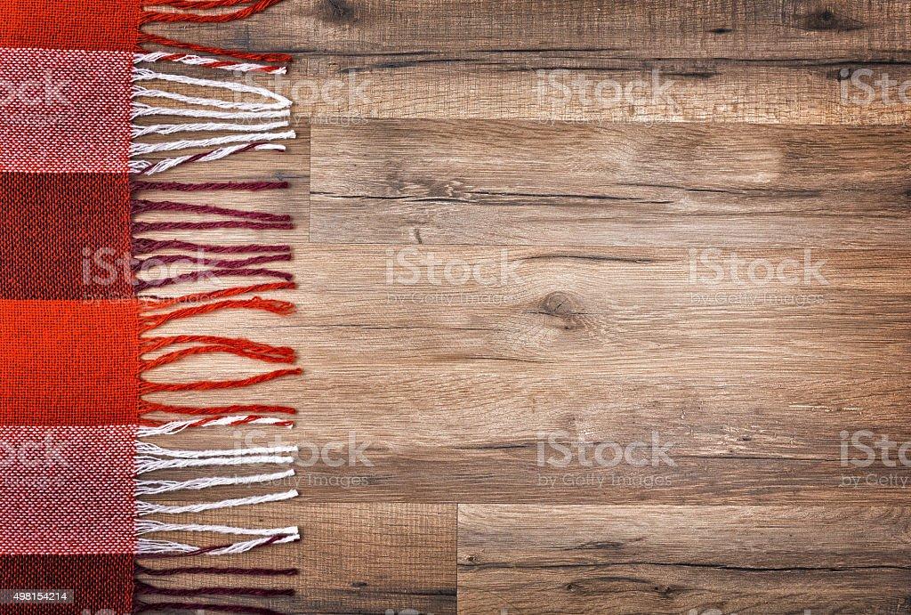 red checkered plaid stock photo