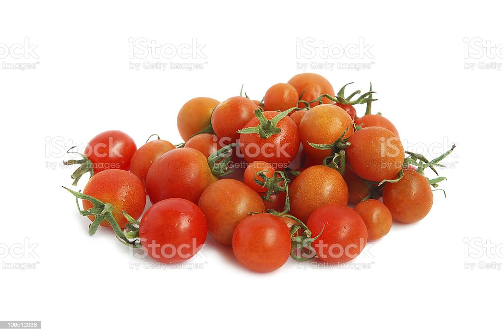 Red cherry tomatoes royalty-free stock photo