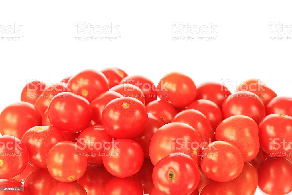 Red Cherry Tomatoes stock photo