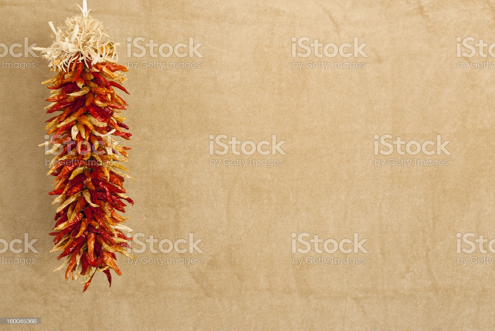 red chile ristras royalty-free stock photo