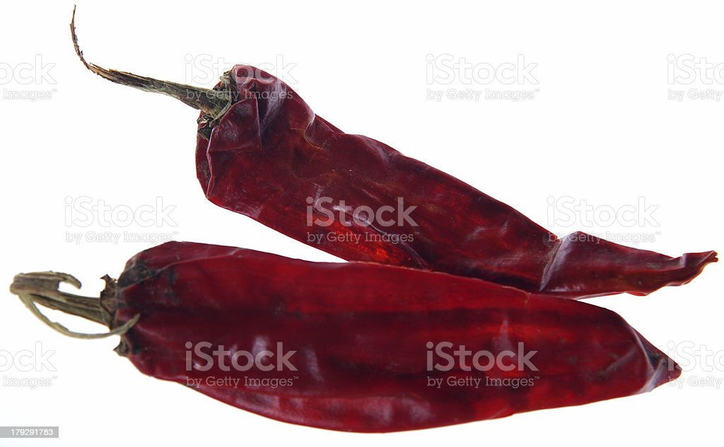 Red Chiles stock photo