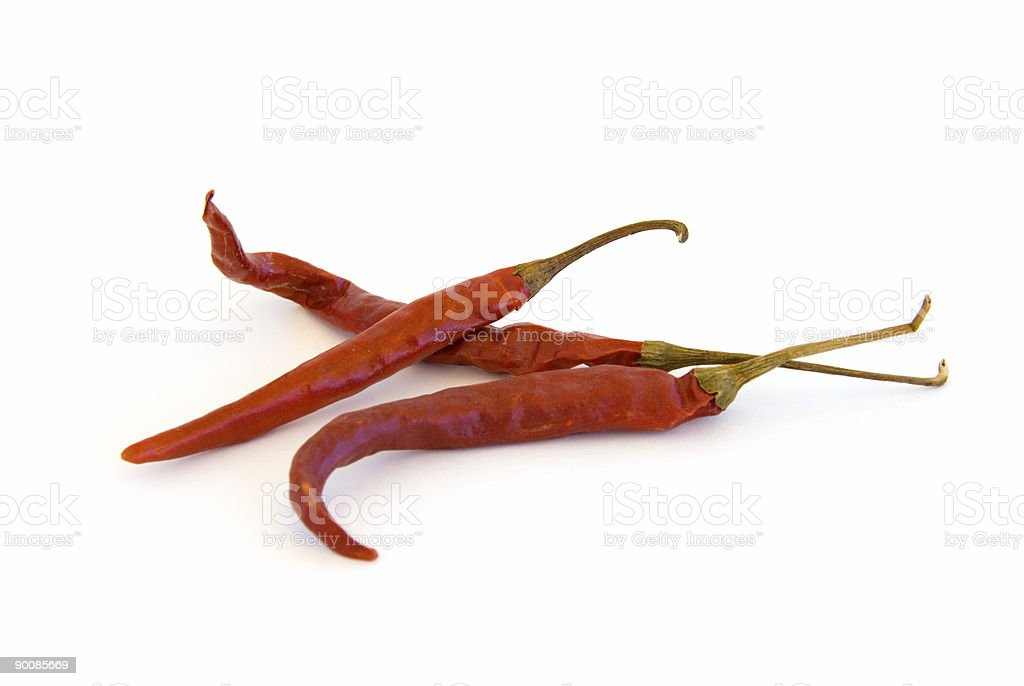 Red chili pepers stock photo