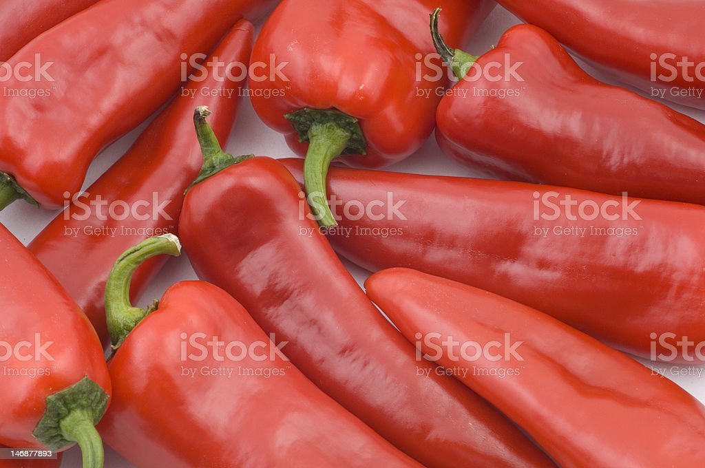 red chili pepper closeup stock photo