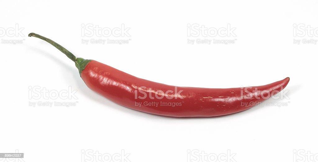 Red chili pepper stock photo