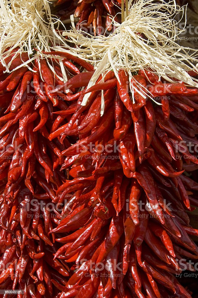 Red Chili Peppers. royalty-free stock photo