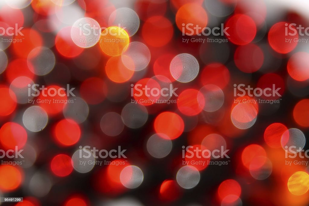 Red christmas light background royalty-free stock photo