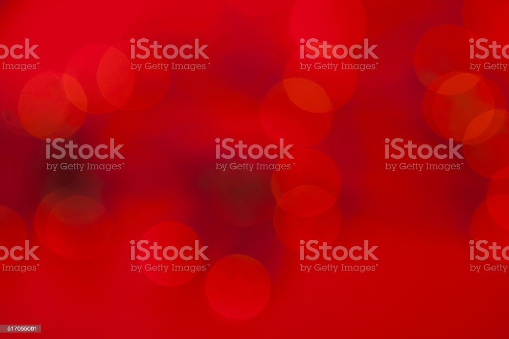 red christmas lights stock photo