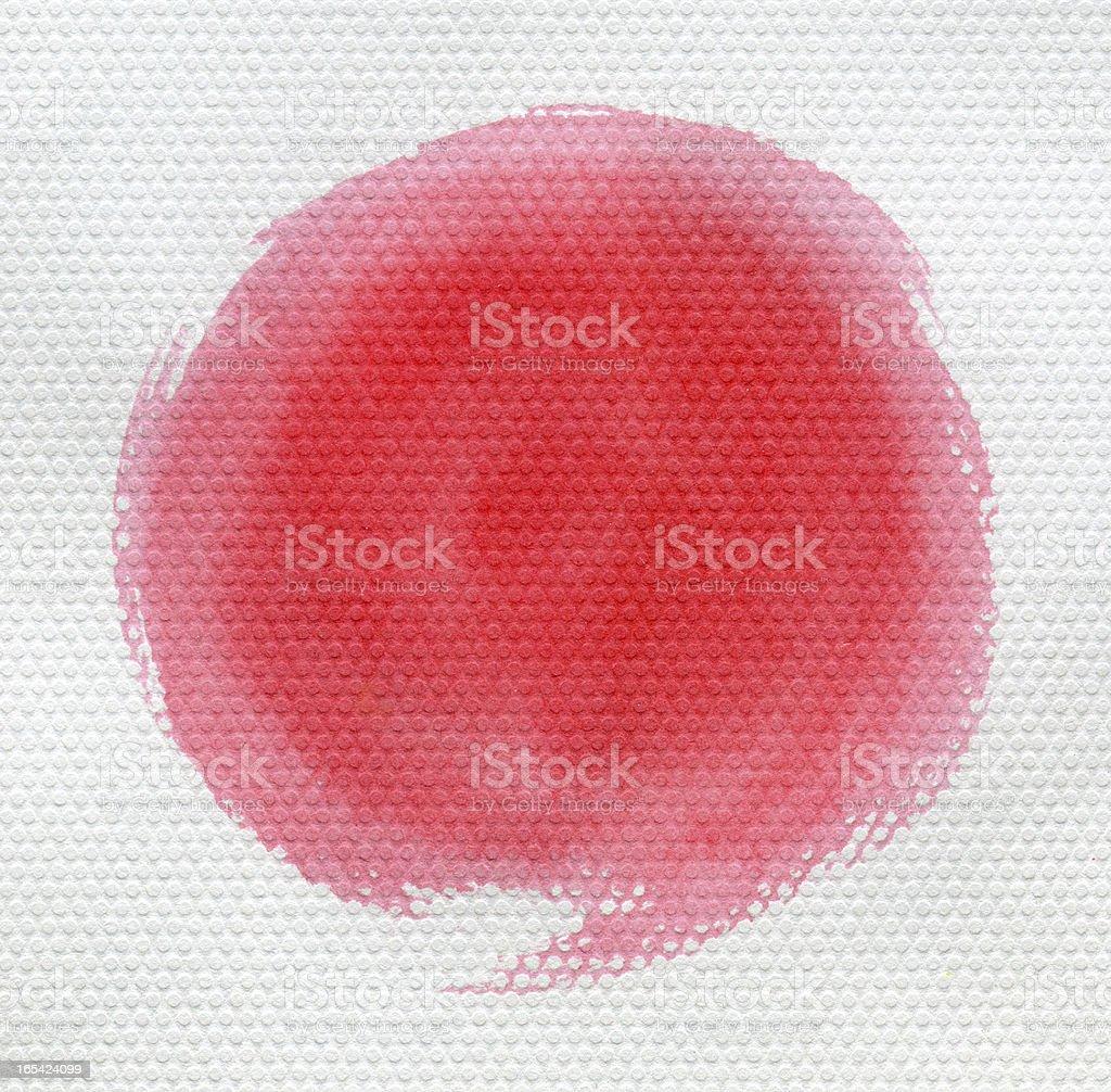 red Circle royalty-free stock photo