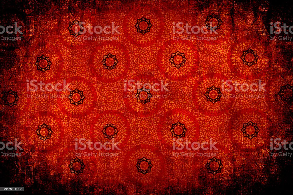 Red Circular Abtract Background stock photo