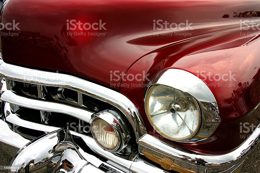 red classic stock photo
