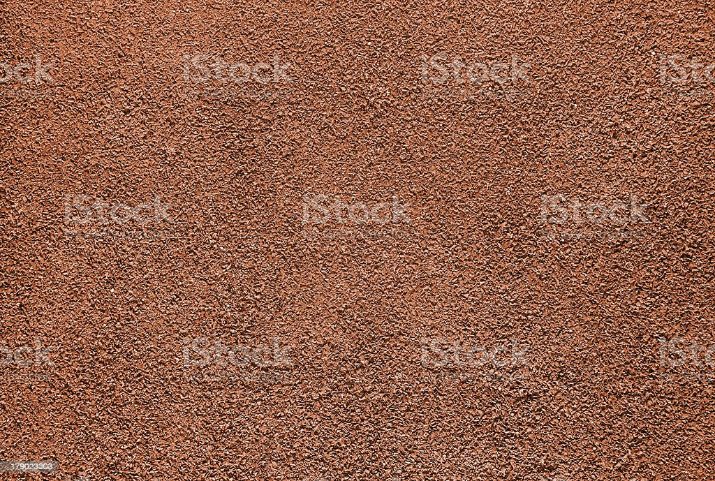 Red clay colored background with texture stock photo