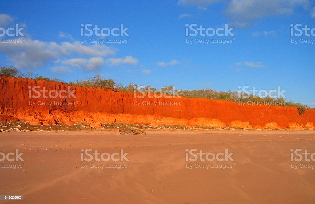 Red Cliffs royalty-free stock photo