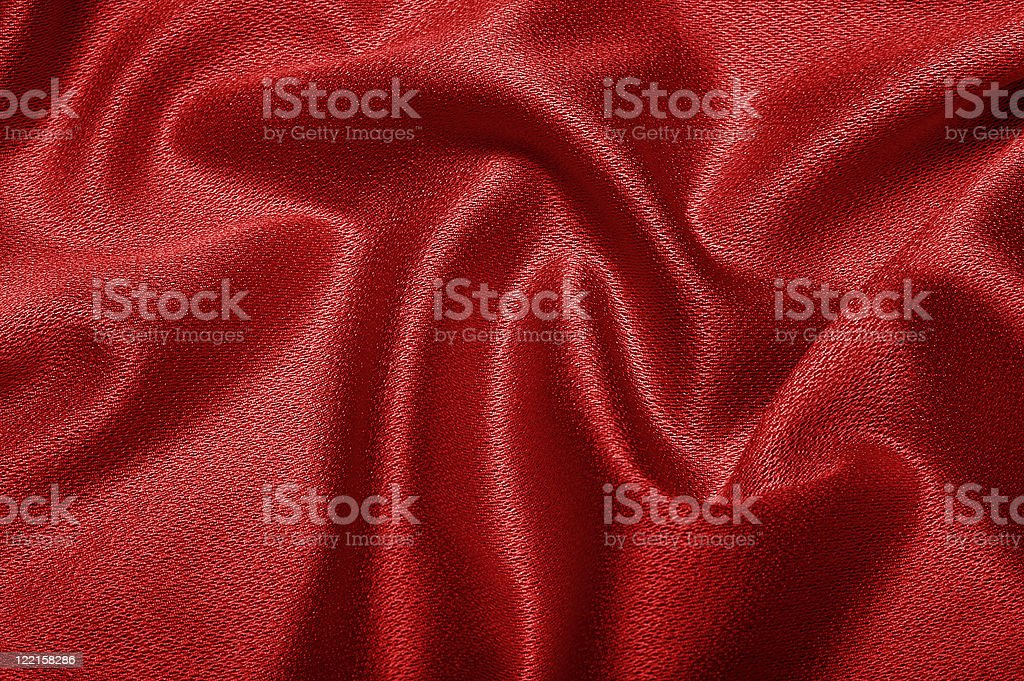 Red cloth texture royalty-free stock photo