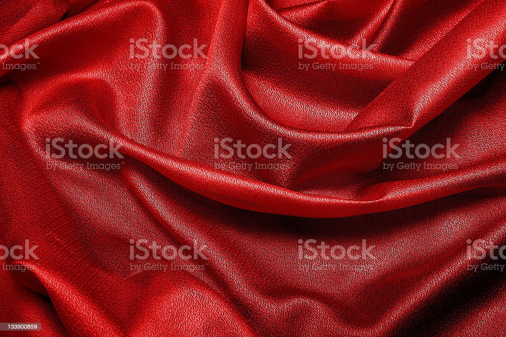 Red cloth texture stock photo