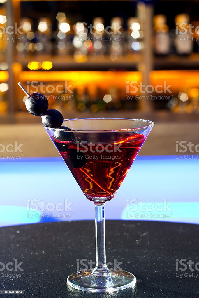 Red Cocktail royalty-free stock photo