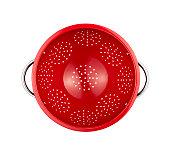 red colander