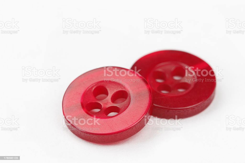 Red Color Buttons royalty-free stock photo