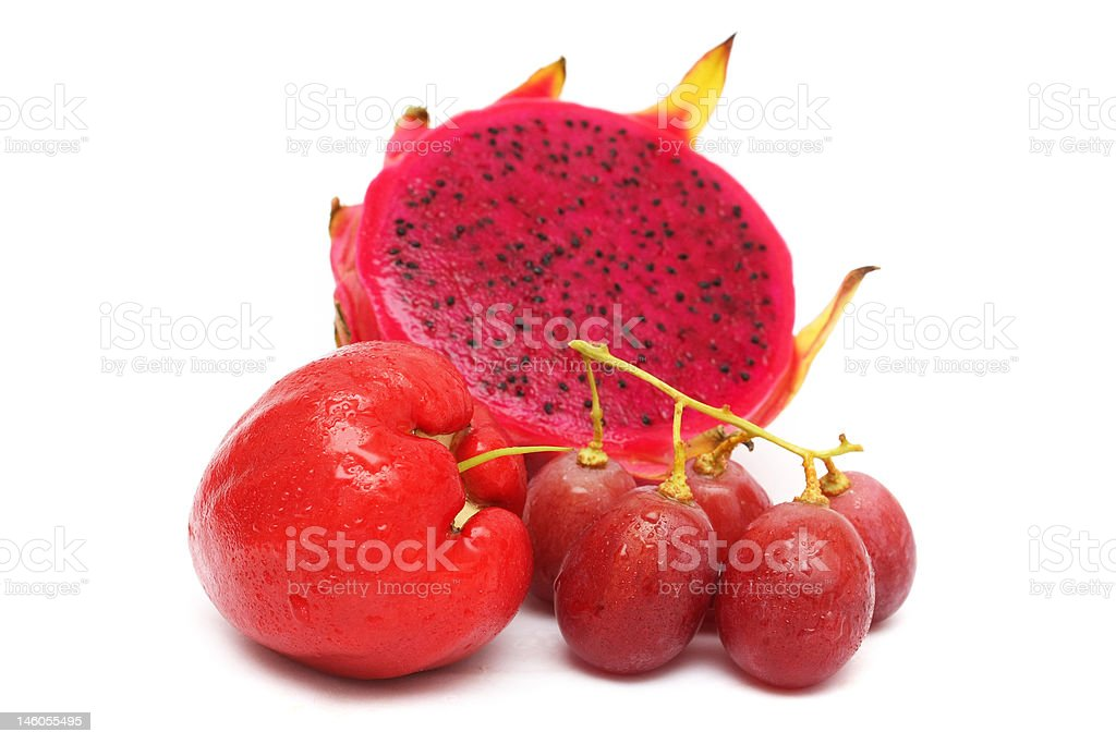 Red Color Fruits royalty-free stock photo