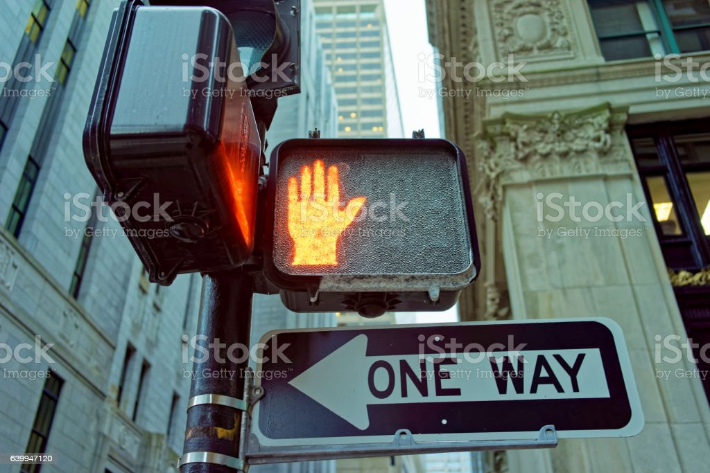 Red color traffic light stock photo