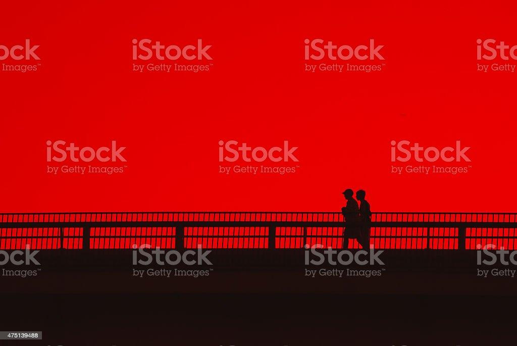 Красный цвет с пара. Стоковые фото Стоковая фотография