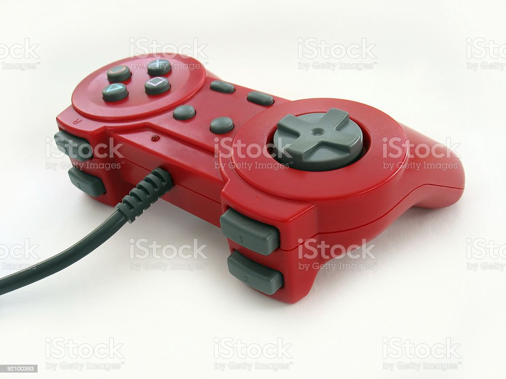 red controller royalty-free stock photo