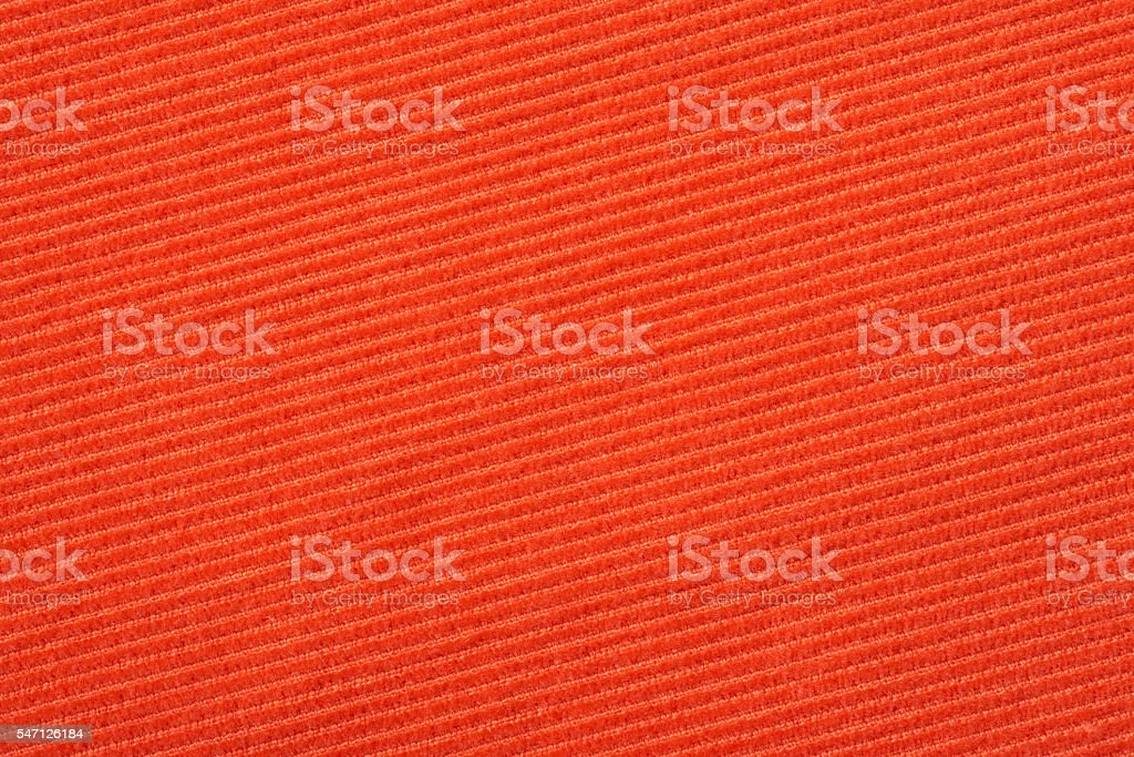 Red corduroy texture stock photo