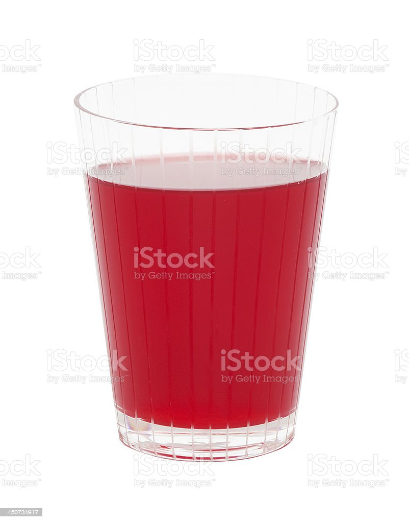Red cranberry fruit drink royalty-free stock photo