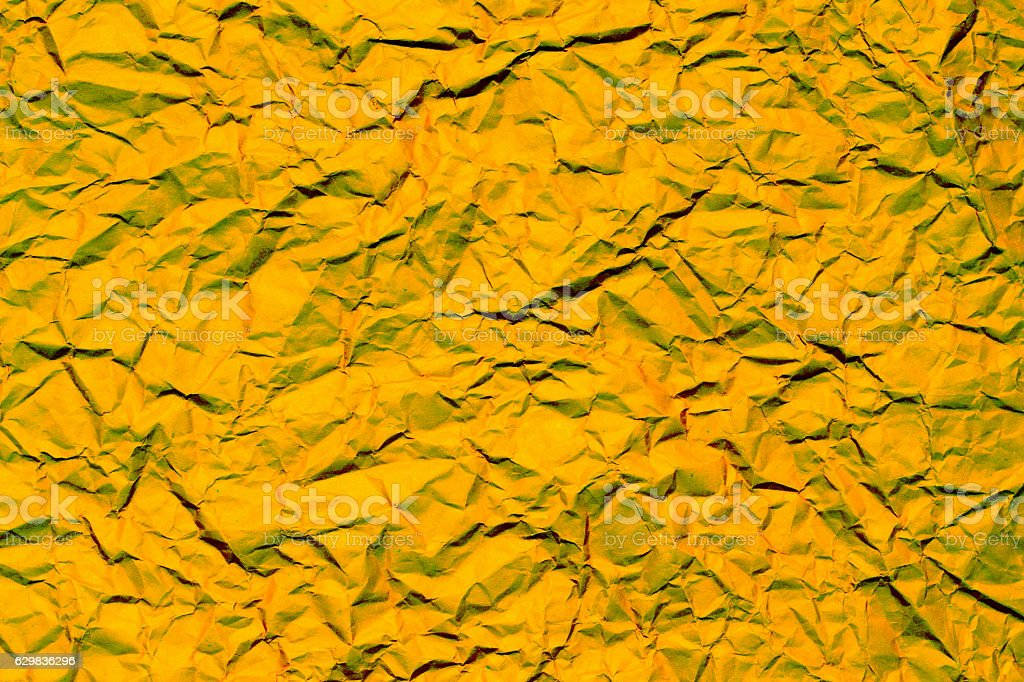 Red crumpled paper, for backgrounds stock photo