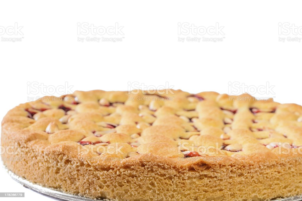Red currant pie royalty-free stock photo