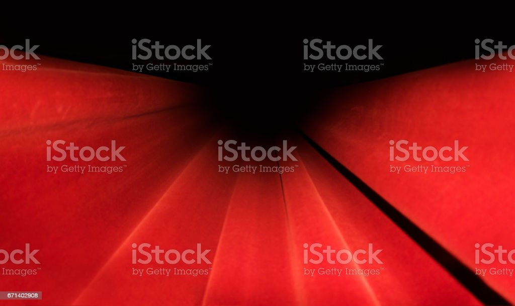 Red curtains Stage. Theater Image Concept. stock photo