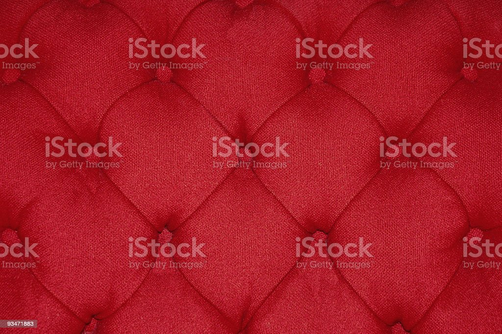 Red Cushion stock photo