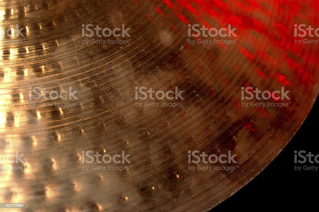 Red Cymbal royalty-free stock photo