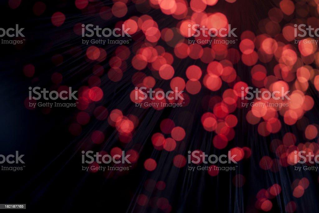 Red defocused Background lights stock photo