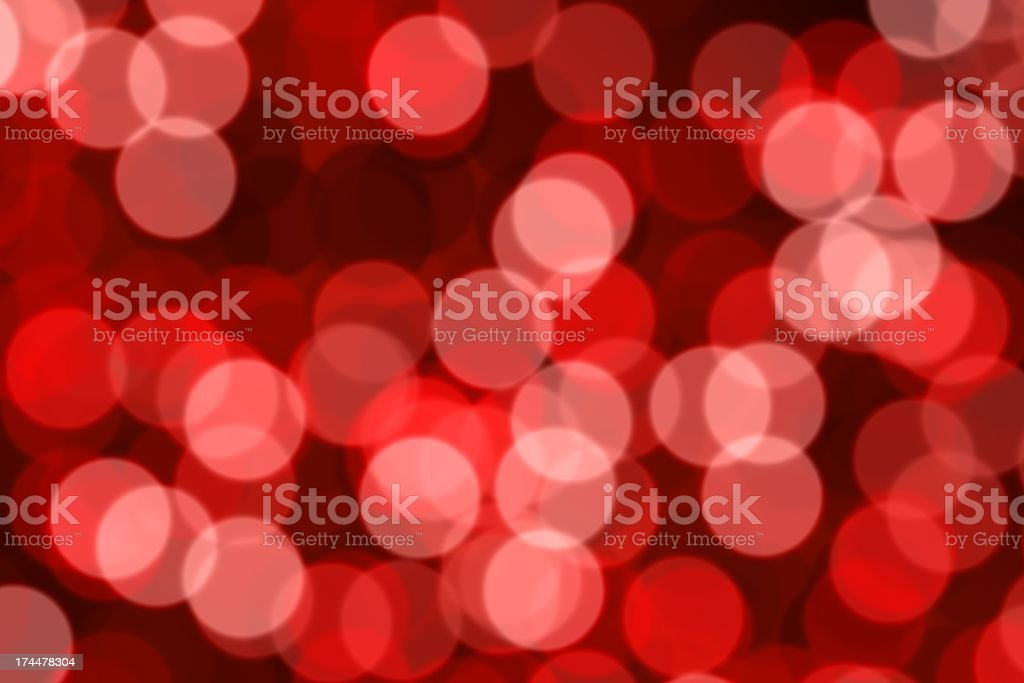Red Defocused (Holiday Background) royalty-free stock photo