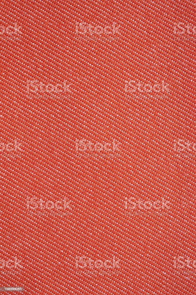 Red Denim Fabric royalty-free stock photo