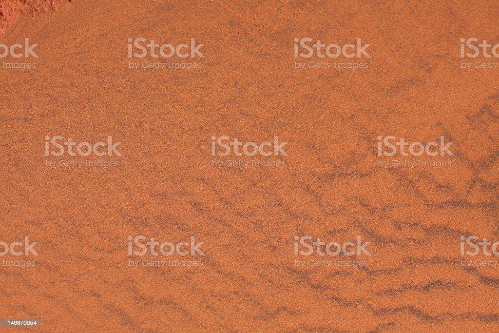 Red Desert sand royalty-free stock photo
