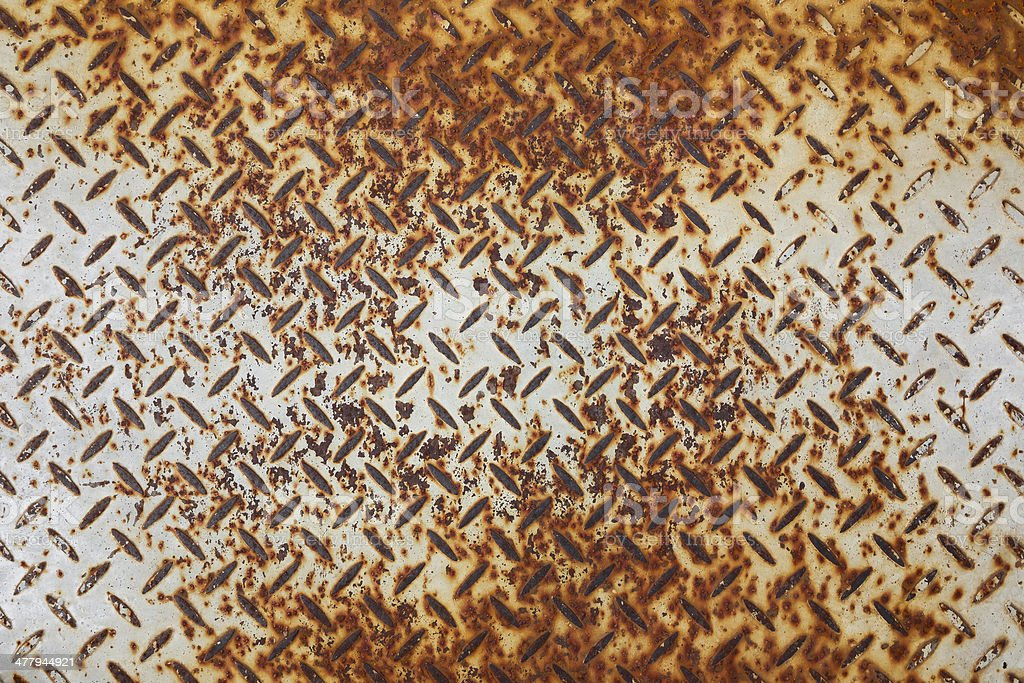 Red Diamond Plate background royalty-free stock photo