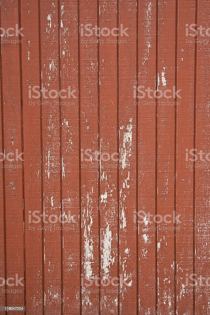 Red distressed wood background royalty-free stock photo