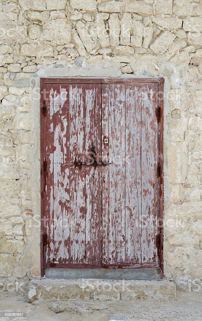 Red Door Morocco royalty-free stock photo