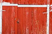 red door-lofoten