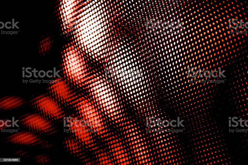 Red dots and spots net background. Abstract form. stock photo
