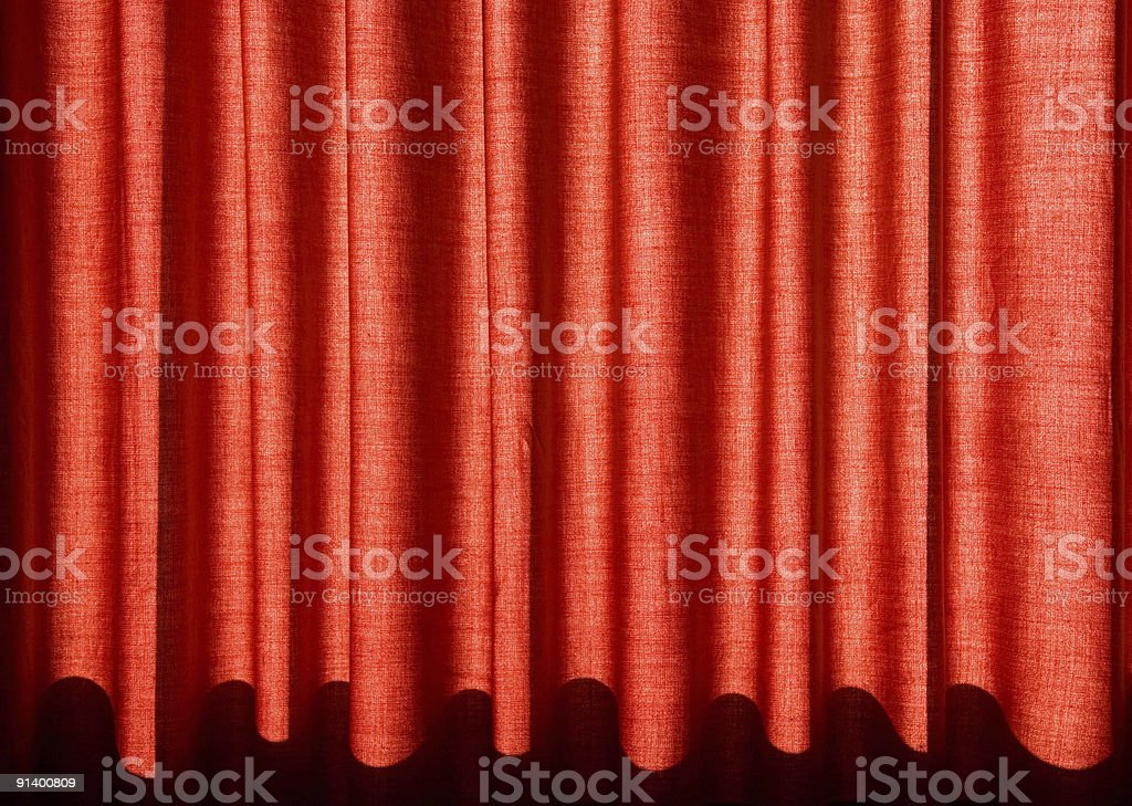 red drapes royalty-free stock photo