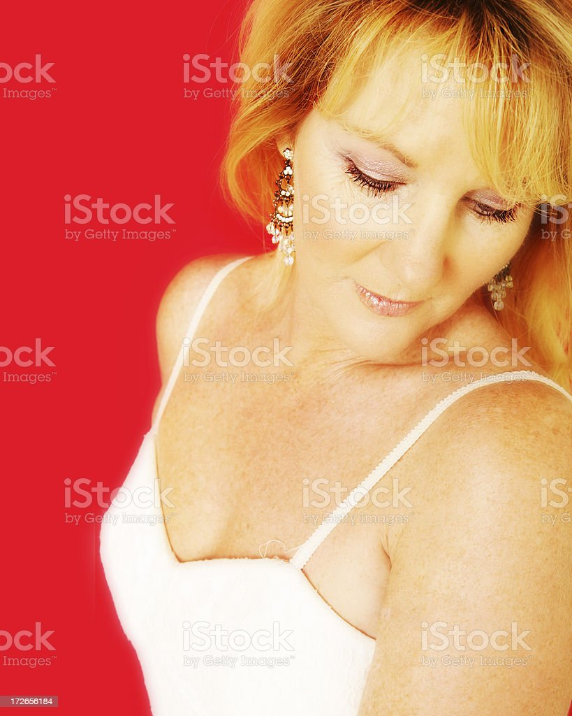 Red Dreaming stock photo