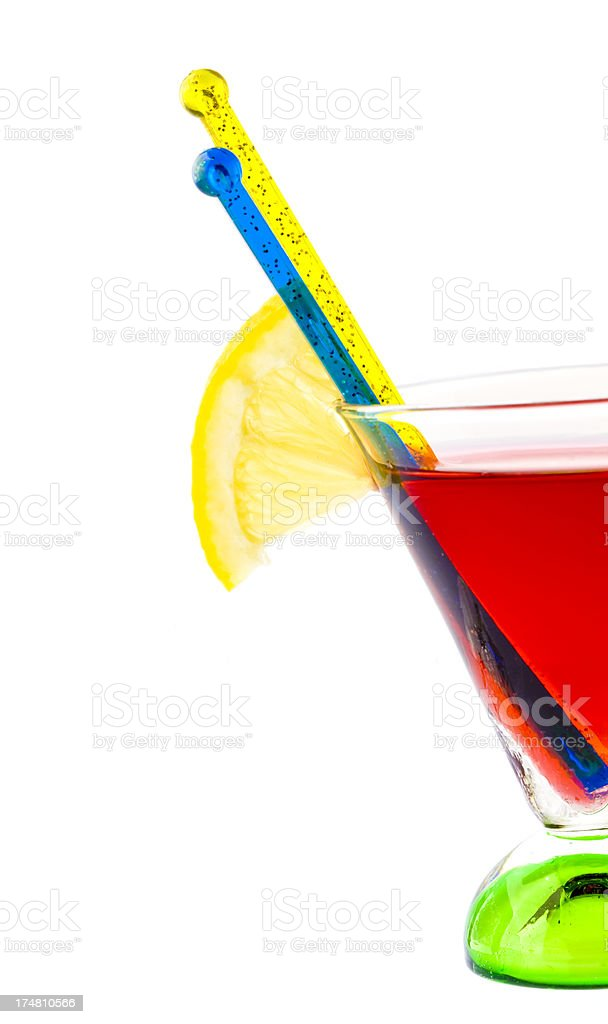 red drink royalty-free stock photo