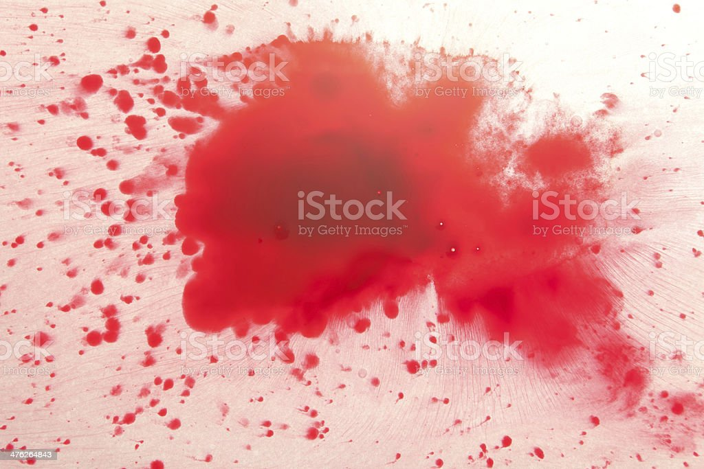 Red drops on white royalty-free stock photo