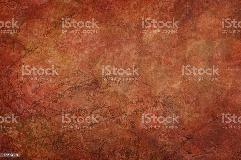 Red earth landscape royalty-free stock photo