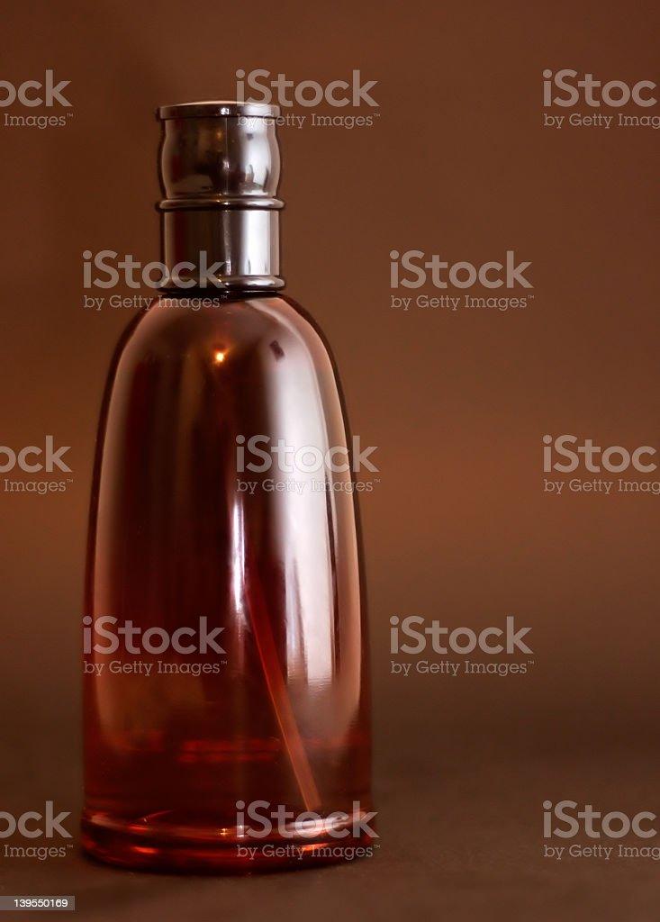 red eau de toilette royalty-free stock photo